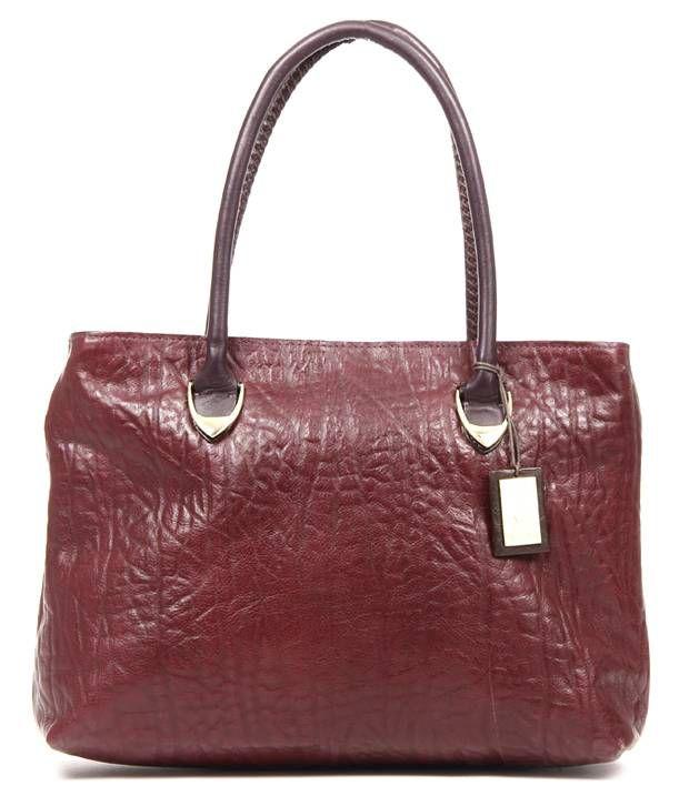 Hidesign Yangtze 02 Ele. (R) Aubergene Shoulder Bag