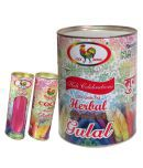 Murga Herbal Holi Gold Gulal Gift Pack ( Inside 5 Drums Of 80Gm)