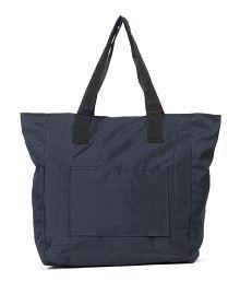 Wallets N Bags M1-Bl Black Tote Bag
