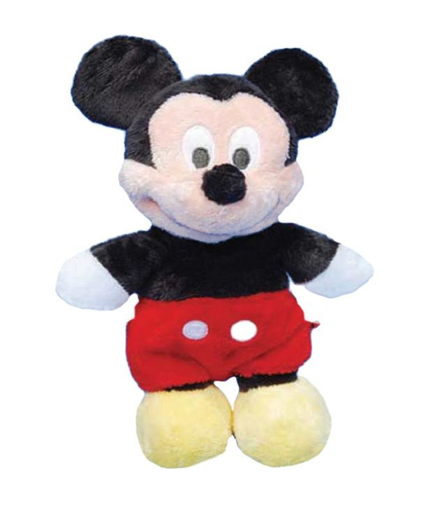 Disney Mickey Mouse Flopsies Soft Toy   24 Inch