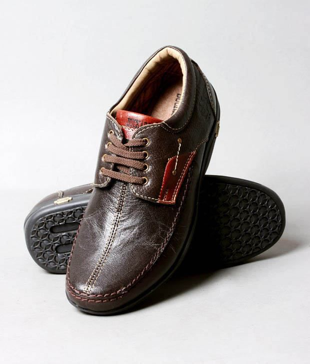 Buckaroo Groovy Brown Lace-up Shoes