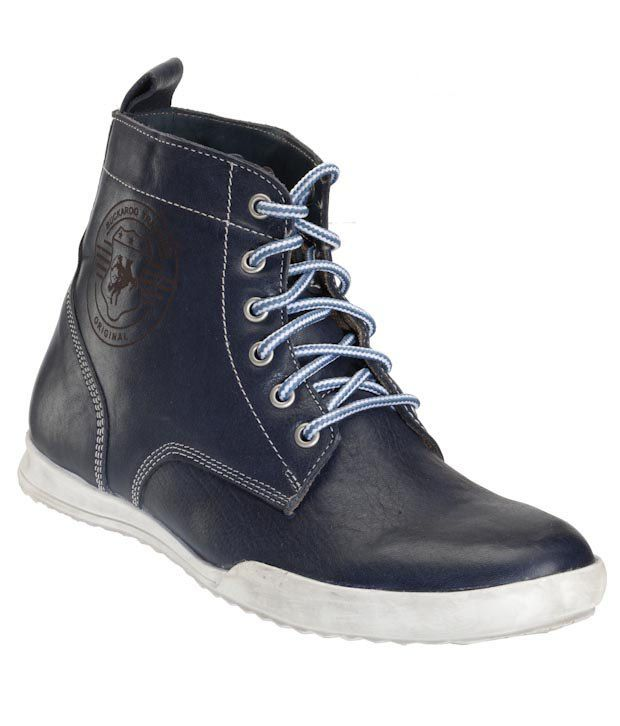 Buckaroo Navy Blue High Ankle Boots