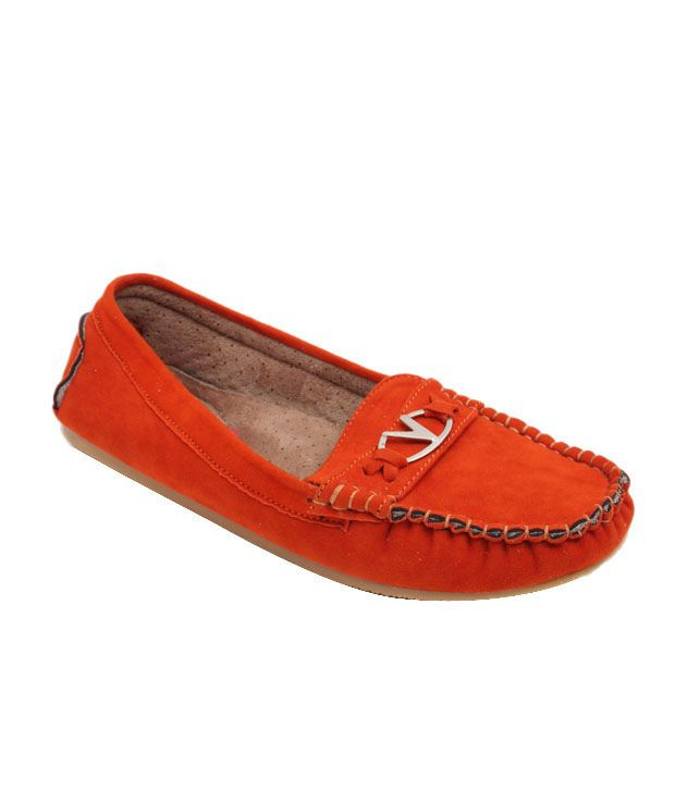 Butterfly Splendid Orange Loafers