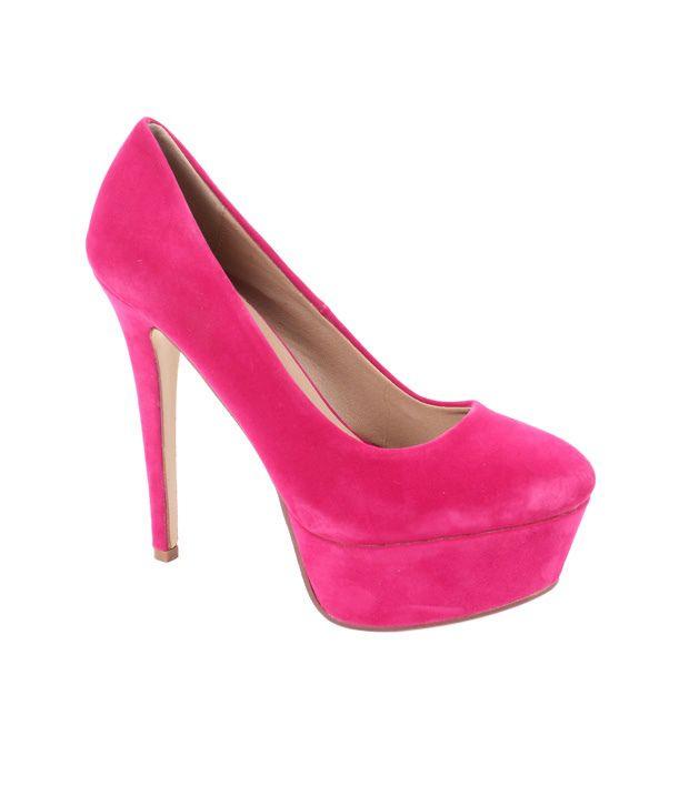Carlton London Hot Pink Stilettoes
