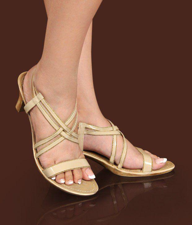 Catwalk Dazzling Beige Sandals