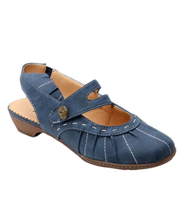 Catwalk Playful Denim Blue Sandals