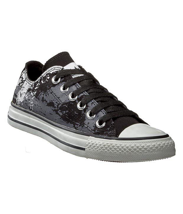 Converse Purple Abstract Unisex Sneakers