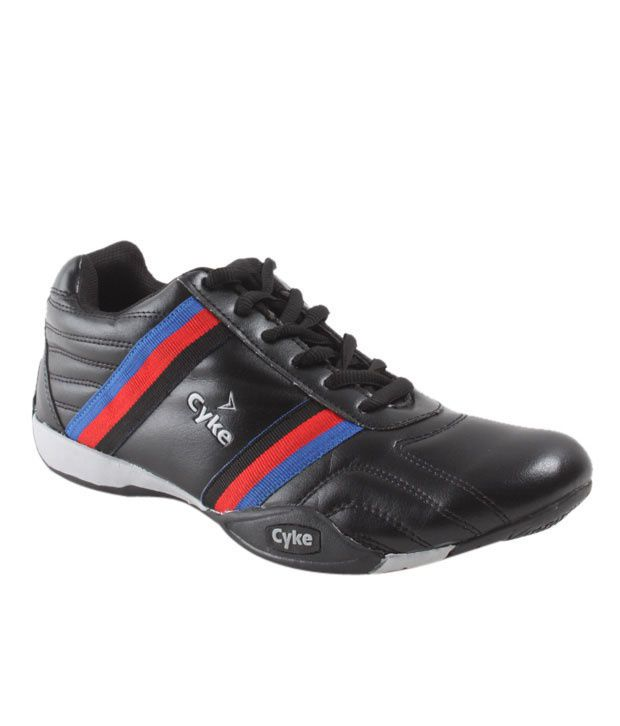 Cyke Energetic Black Sport Shoes