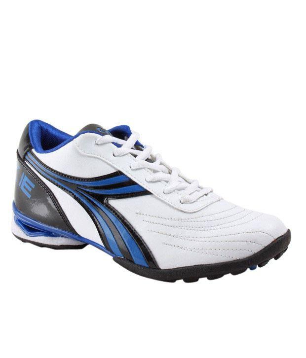 Cyke Vibrant White & Royal Blue Sport Shoes