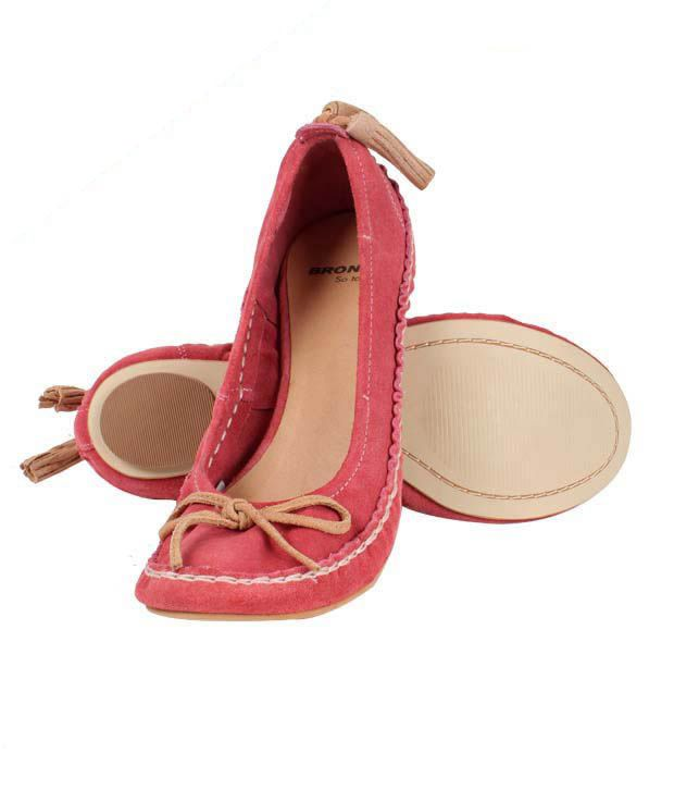 High Fashion Playful Pink Belly Shoes