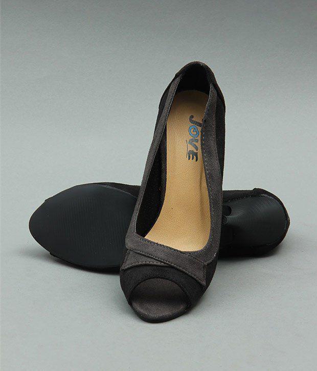 Jove Designer Black  Ballerina