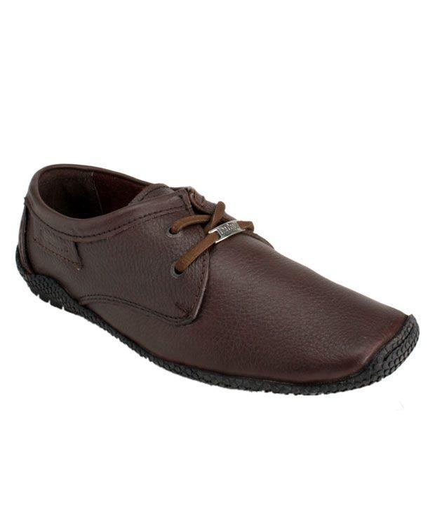 Lee Cooper Brown Smart Casuals Shoes
