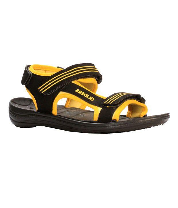 Liberty Gliders Comfy Black Sandals