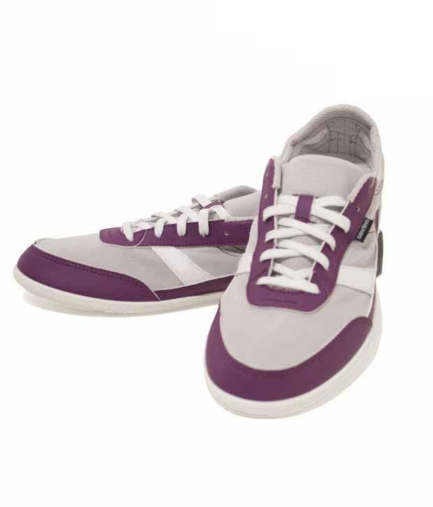 NewFeel Purple & Grey Walking  Footwear 8169732
