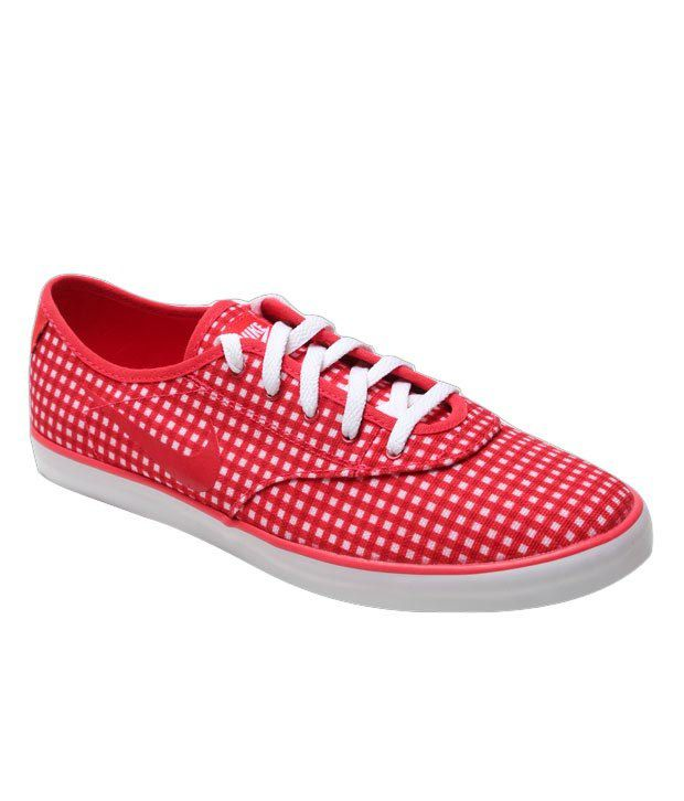 Nike Starlet Saddle Print Red & White Shoes