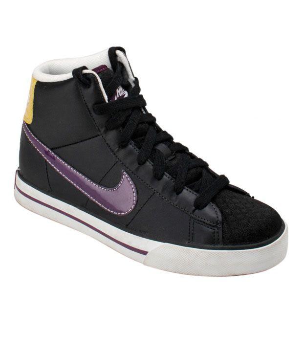 93727d52f6bcc Nike Sweet Classic Black Ankle Length Sneakers Price in India- Buy Nike  Sweet Classic Black Ankle Length Sneakers Online at Snapdeal