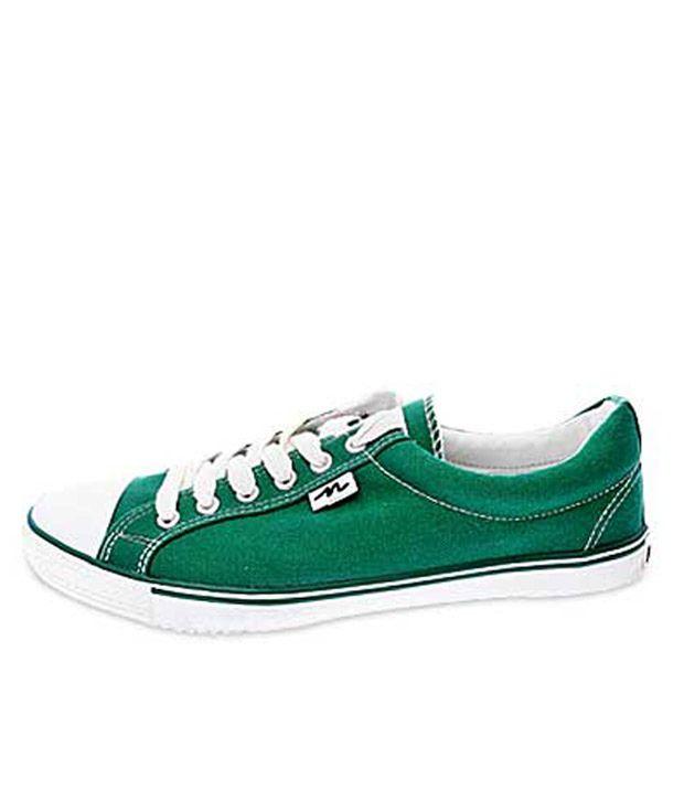 Numero Uno Canvas Shoes-102LtGrn