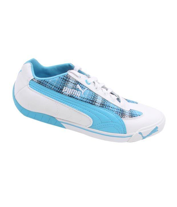Puma Blue & White Sneaker Casual Shoes