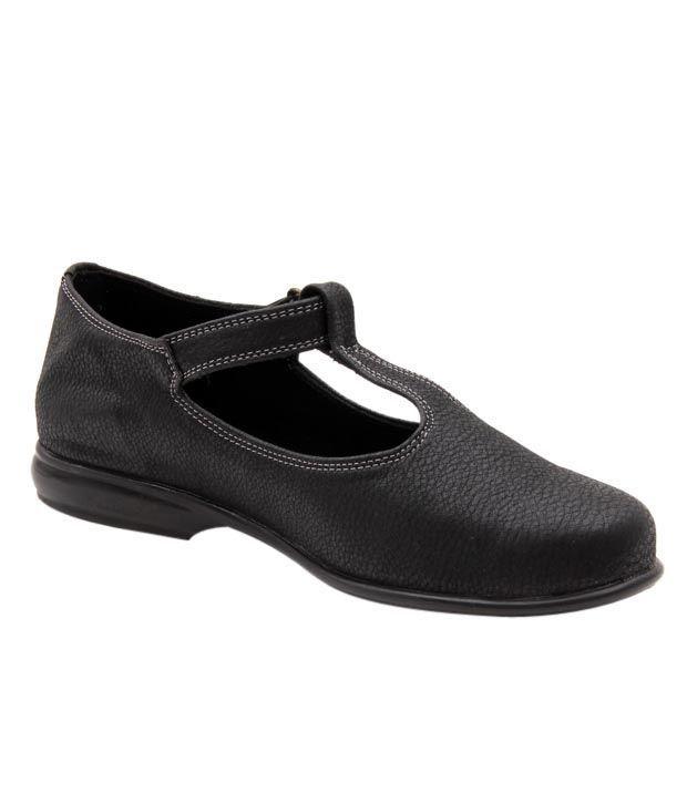 Sleek Comfy Black Belly Shoes