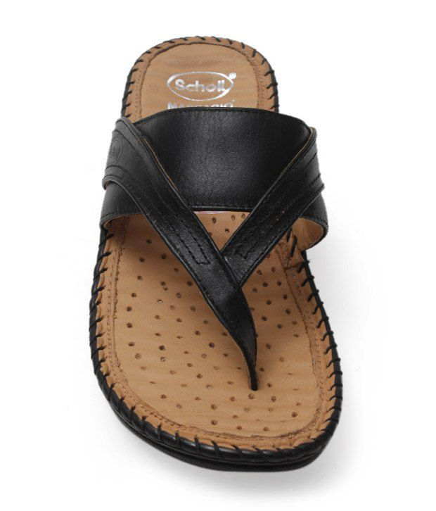 aa4bdb460e3c Dr. Scholl Black Easy Sandals Price in India- Buy Dr. Scholl Black Easy  Sandals Online at Snapdeal