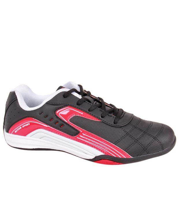 Fila Agony Ii Black  U0026 Red Motorsport Shoes