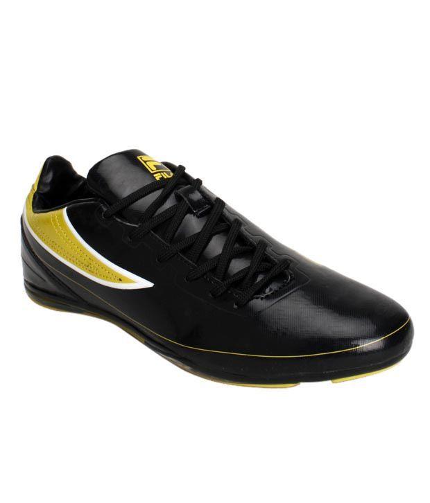 Fila Sturdy Black  U0026 Yellow Sports Shoes