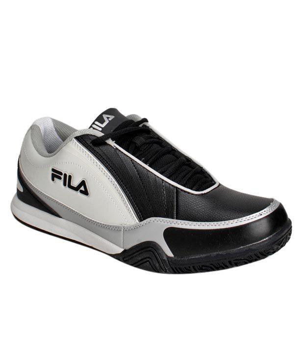 Fila Vital Black & White Sports Shoes