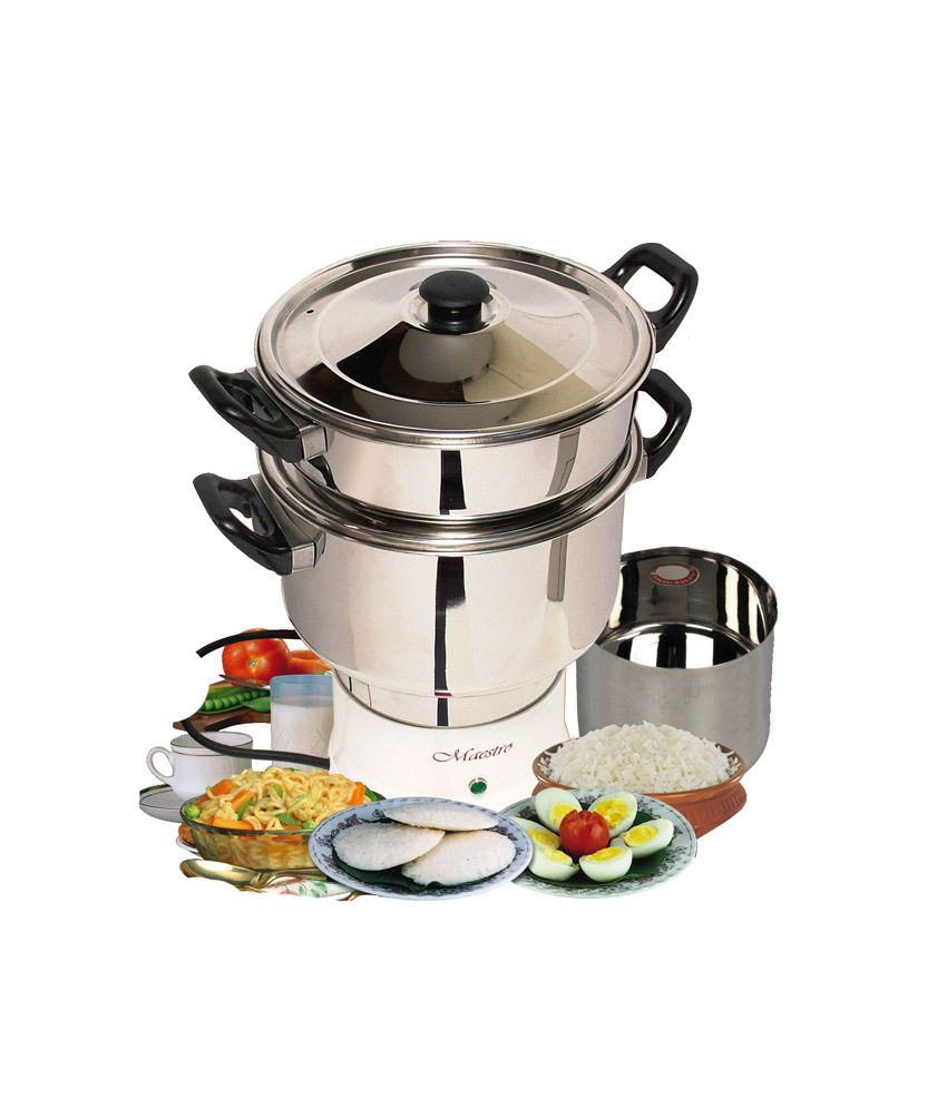 Electric Steam Cooker ~ Maestro electric steam cooker mc plus ltr price