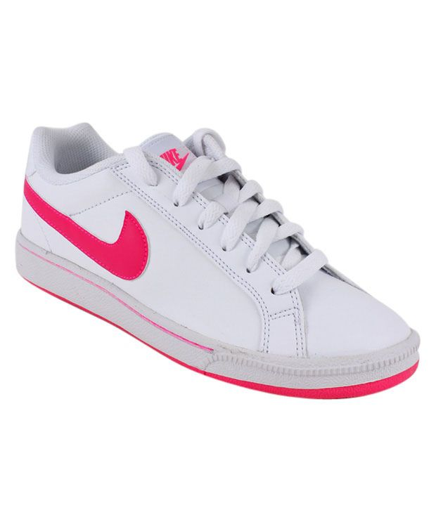 Nike Court Majestic White & Pink Sneakers