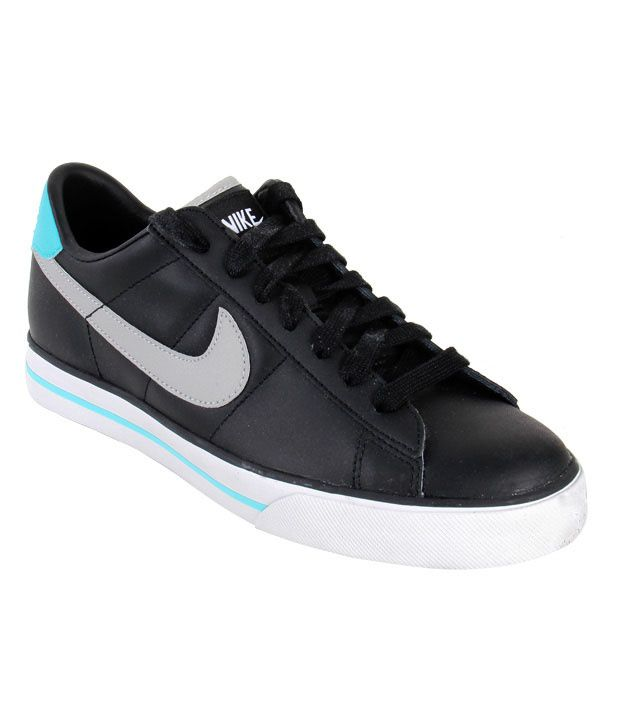 new style 97314 1fa99 Nike Sweet Classic Leather Black Shoes - Buy Nike Sweet Classic Leather  Black Shoes Online at Best Prices in India on Snapdeal