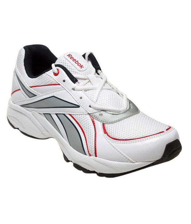 Reebok White Trilobit Sports Shoes