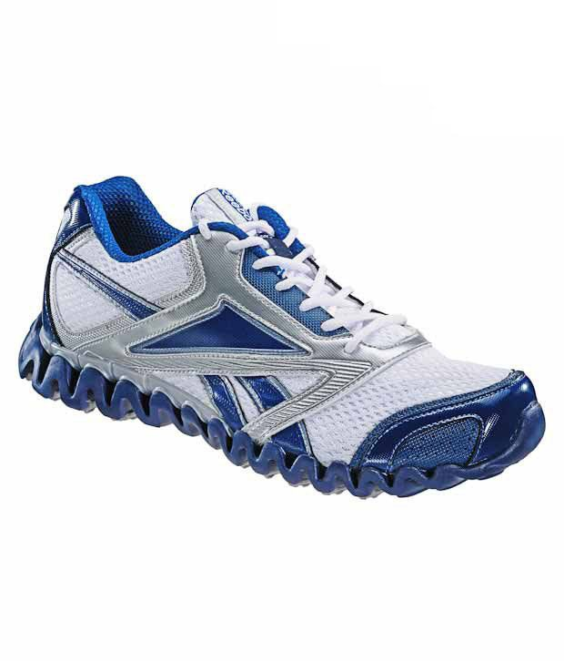 Reebok Zignano Race White   Blue Running Shoes - Buy Reebok Zignano Race  White   Blue Running Shoes Online at Best Prices in India on Snapdeal 4fdfb05b9