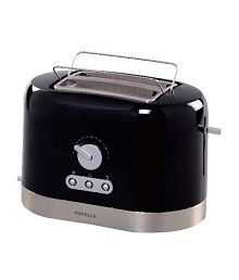Havells Ovale Pop Up Toaster Black