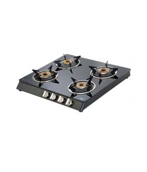 KAFF KC 60GBK AI 4 Burner Gas Cooktop