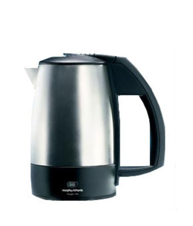 Morphy Richards 0.5 Ltr Voyager 200 Electric Kettle Silver Black