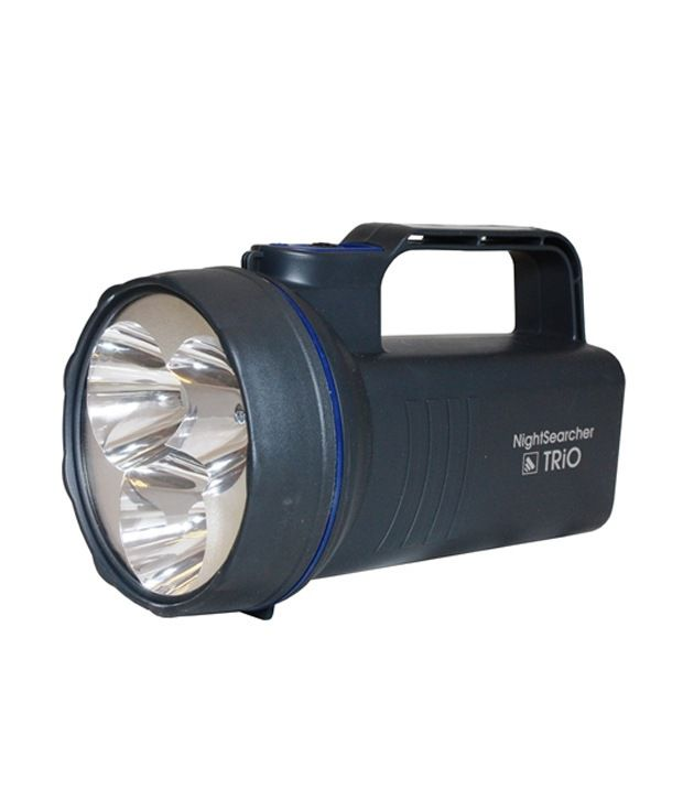 Night Searcher Rechargeable LED Handlamp Trio