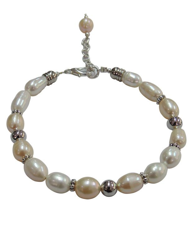 Pearlz Ocean Beady Eyes Fresh Water Pearl Bracelet