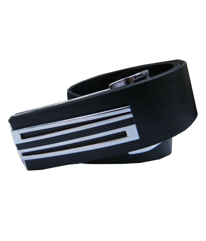 Winsome Deal Black PU Leather Mens Formal Belt