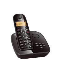 GigasetA495 Cordless Landline Phone (Black)