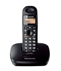 Panasonic Kx-tg3611sxb Cordless Landline Phone ( Black ) (With Speaker Phone)