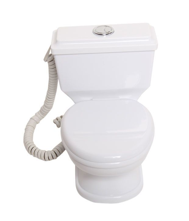 Aashrit Colestool Style Corded Landline Phone (White)