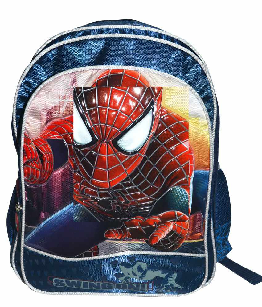 Amazing Spider Man 2 Swing On Backpack- 16 Inches