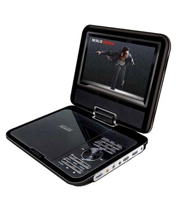 buy mitashi 9 portable player with tv tuner tfd 9609. Black Bedroom Furniture Sets. Home Design Ideas