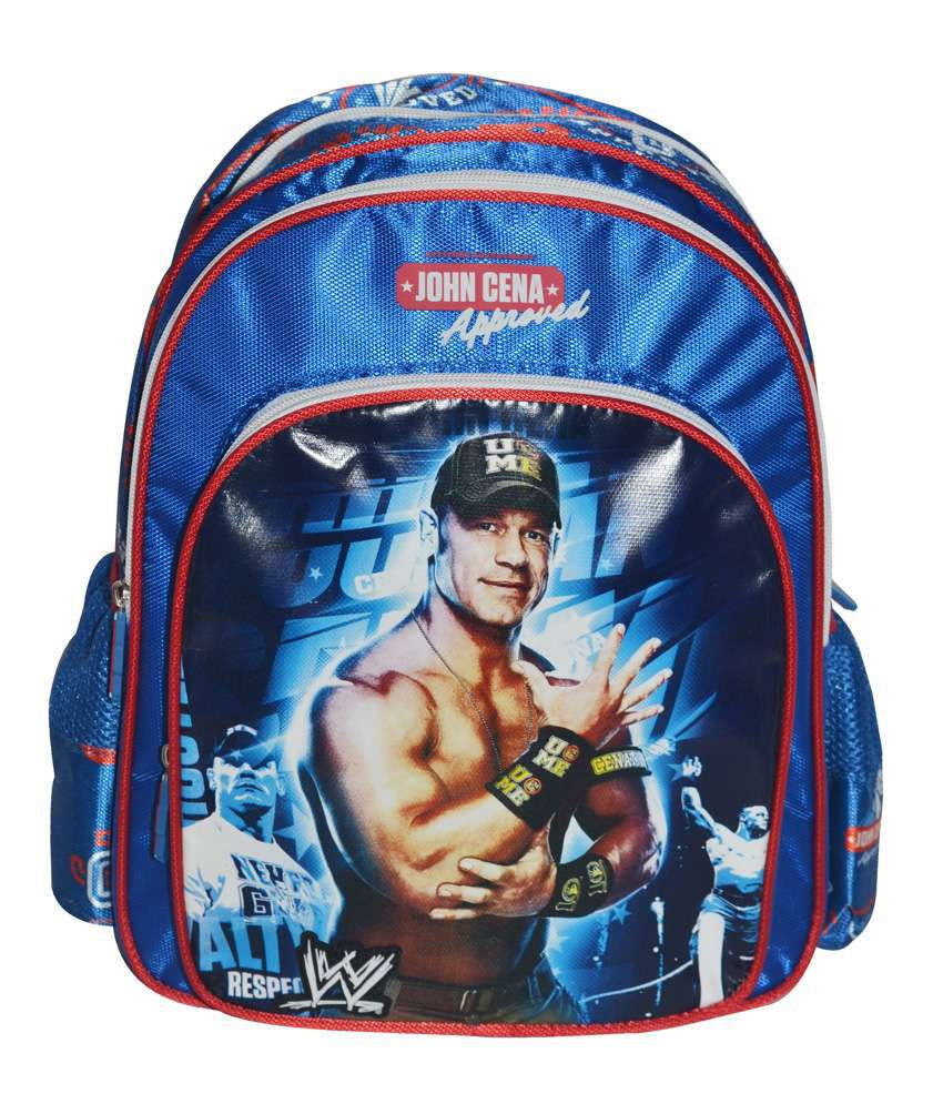 WWE John Cena Approved Backpack- 16 Inches