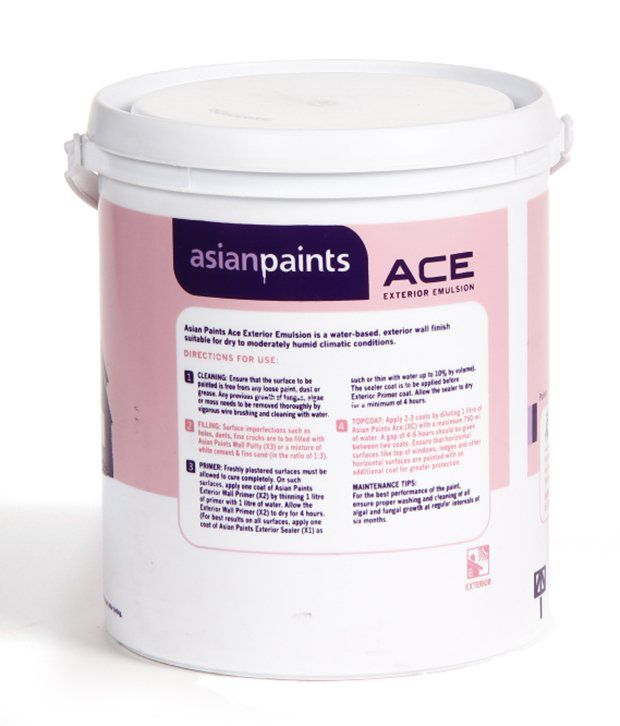 Cost of asian paints
