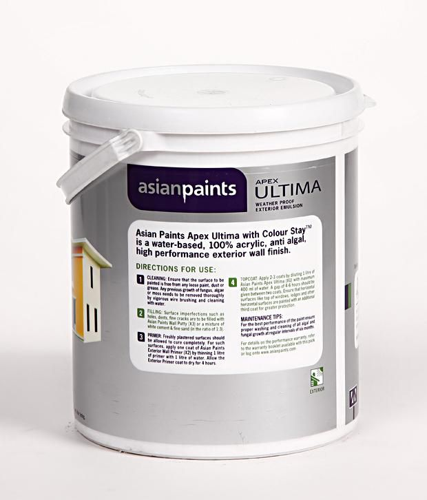 buy asian paints apex ultima wheather proof exterior emulsion