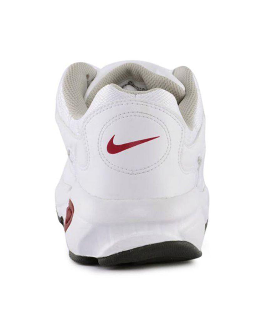 7530490154314 Nike Men 2.04 White Red Sports Shoes - Buy Nike Men 2.04 White Red ...
