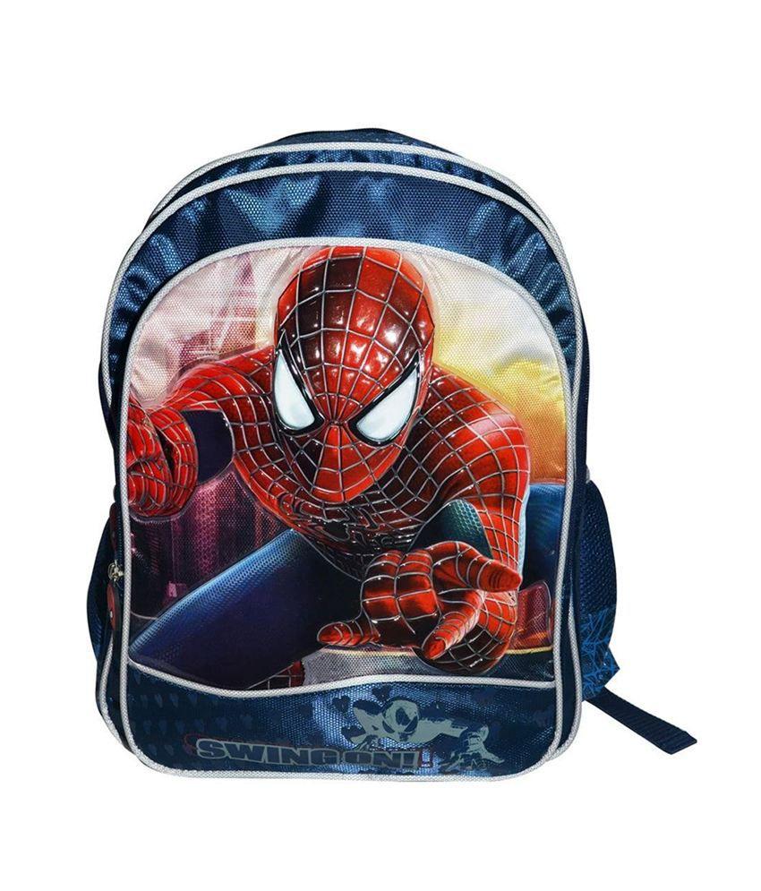Simba Trendy Amazing Spider Man 2 Swing On Backpack