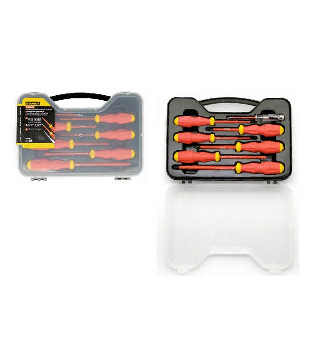 Stanley 65980 VDE 6 Piece Screwdriver Set with Bonus Tester