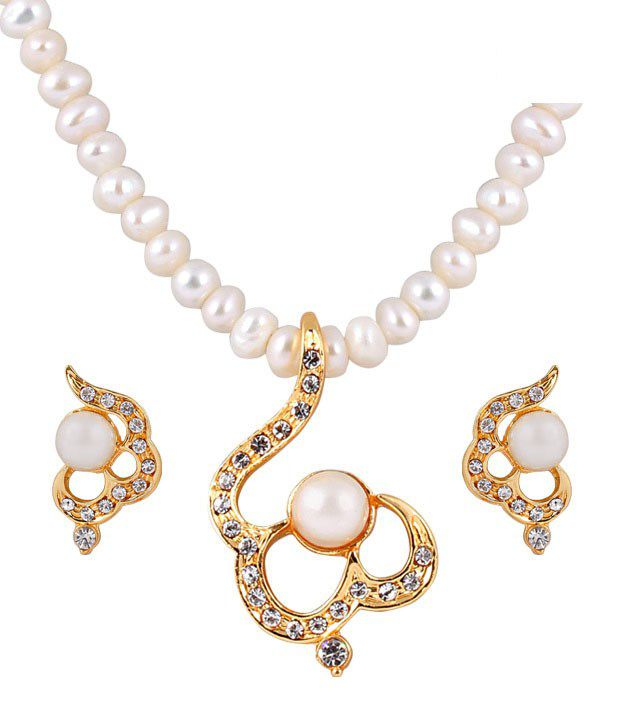 Deccan Authentic Fresh Water Pearl Necklace Set